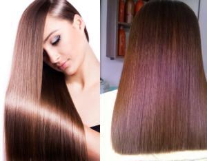 Duỗi tóc là phường pháp tạo kiểu tóc làm cho tóc thẳng, phẳng, suông, mượt.