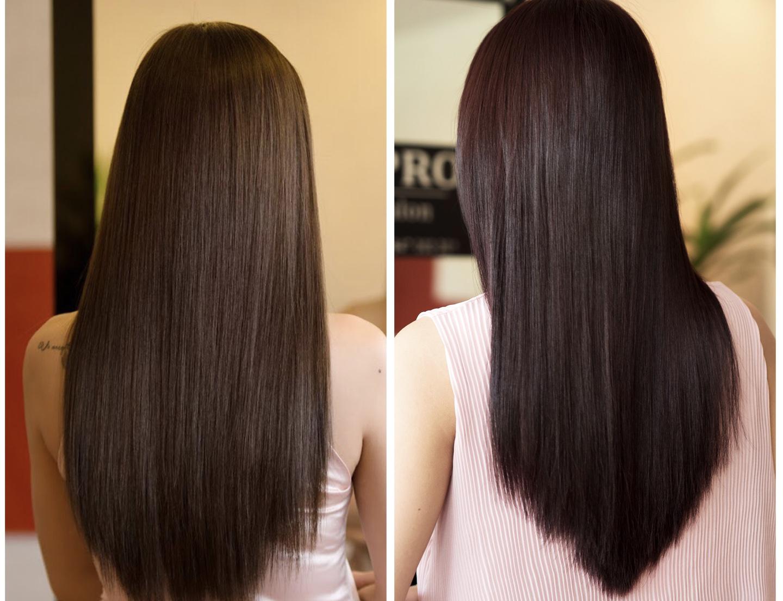 Duỗi tóc vĩnh viễn là quá trình duỗi tóc có sửa dụng hóa chất kết hợp với kẹp duỗi tóc nóng