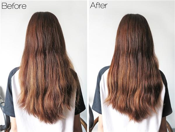 Hấp dầu tóc giúp tăng cường độ  ẩm cho tóc, bổ sung chất dinh dưỡng, kích thích sự phát triển của tóc