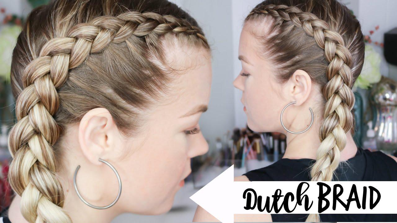 Mẫu tóc sử dụng Kiểu tết tóc Hà Lan! Mẫu 02